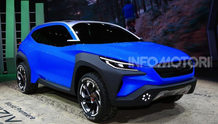 Subaru Viziv Adrenaline: un SUV Coupé ibrido per Ginevra 2019 - Foto 3 di 14