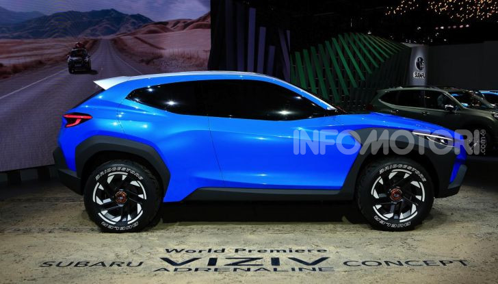 Subaru Viziv Adrenaline: un SUV Coupé ibrido per Ginevra 2019 - Foto 5 di 14