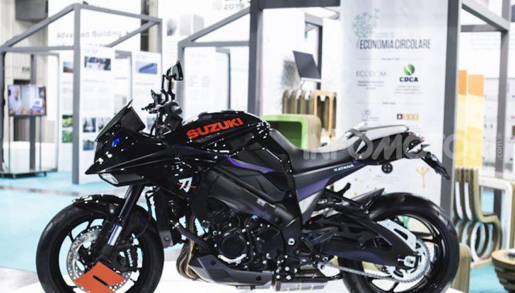 """Suzuki Katana protagonista della mostra """"Smart City: People, Technology & Materials"""" - Foto 9 di 10"""