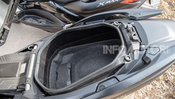 Comparativa scooter 400: Suzuki Burgman, Yamaha XMAX e BMW C400X - Foto 35 di 61