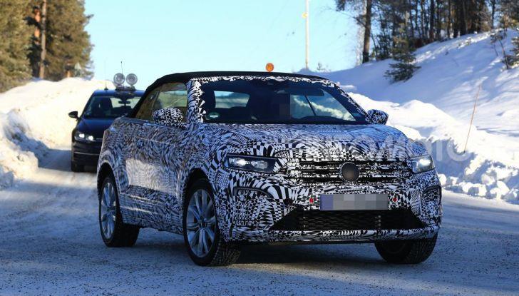 Volkswagen T-Roc Cabrio 2020: il SUV che non c'era - Foto 2 di 11