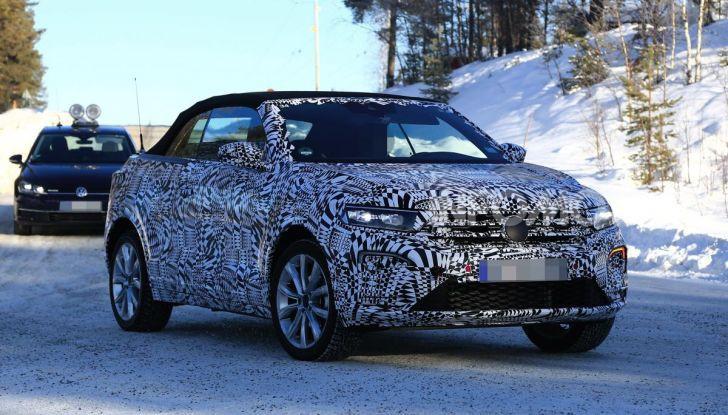 Volkswagen T-Roc Cabrio 2020: il SUV che non c'era - Foto 3 di 11