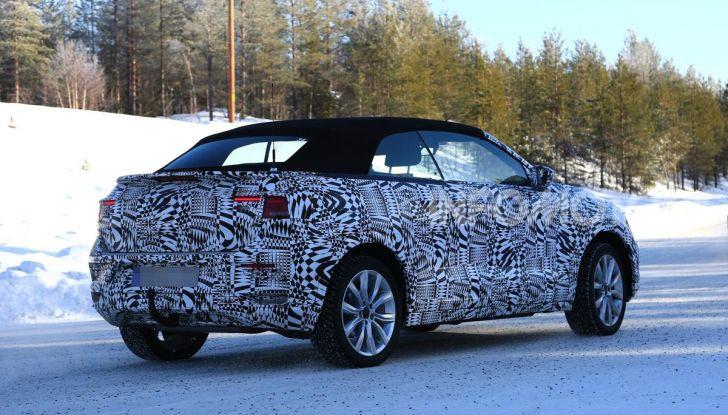 Volkswagen T-Roc Cabrio 2020: il SUV che non c'era - Foto 10 di 11