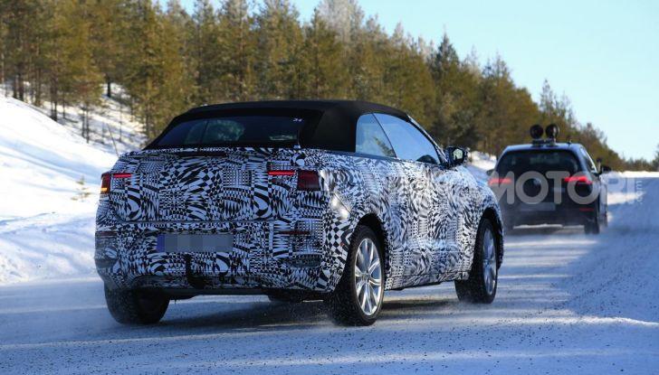 Volkswagen T-Roc Cabrio 2020: il SUV che non c'era - Foto 9 di 11