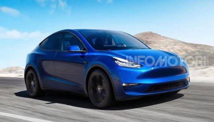 Tesla Model Y: nel 2020 arriva il SUV elettrico a prezzi popolari - Foto 3 di 33
