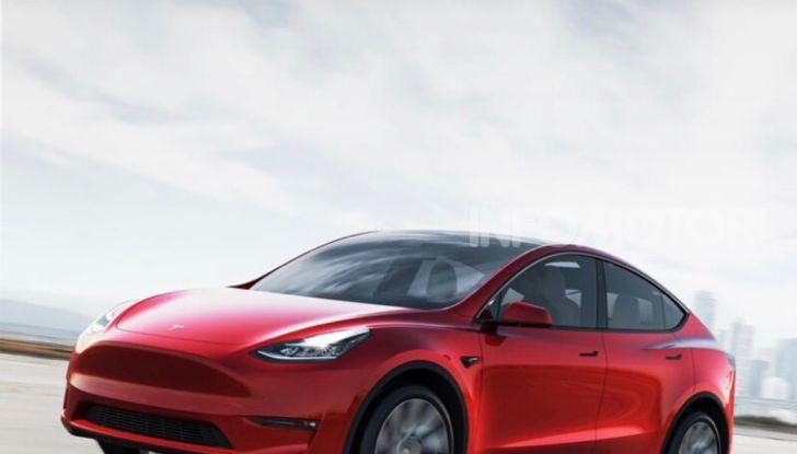 Tesla Model Y: nel 2020 arriva il SUV elettrico a prezzi popolari - Foto 1 di 33