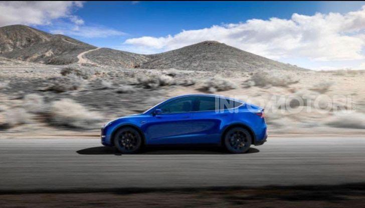 Tesla Model Y: nel 2020 arriva il SUV elettrico a prezzi popolari - Foto 7 di 33