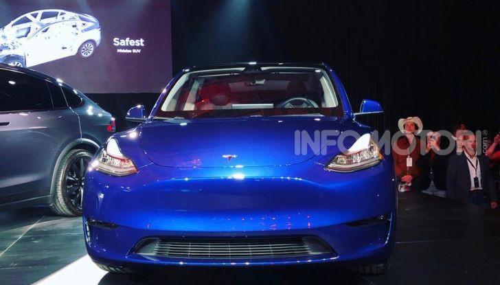 Tesla Model Y: nel 2020 arriva il SUV elettrico a prezzi popolari - Foto 4 di 33