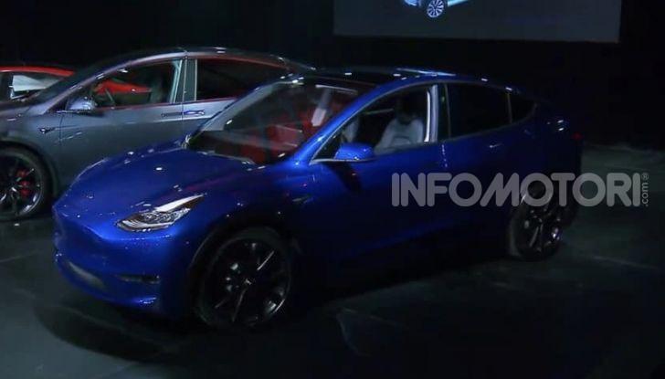 Tesla Model Y: nel 2020 arriva il SUV elettrico a prezzi popolari - Foto 32 di 33