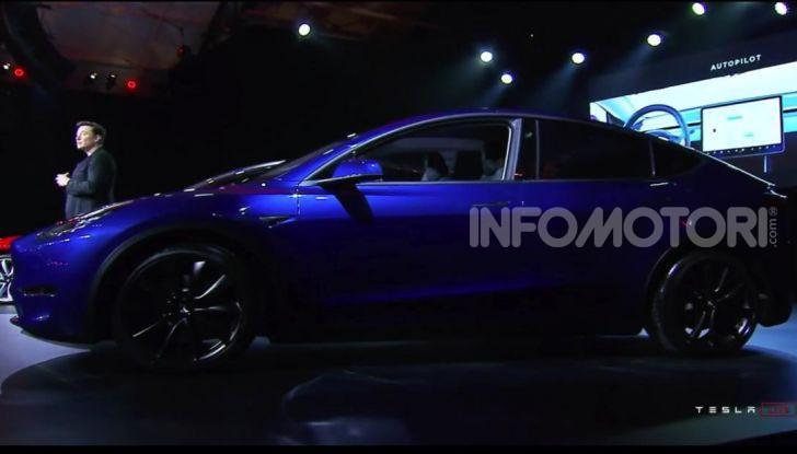 Tesla Model Y: nel 2020 arriva il SUV elettrico a prezzi popolari - Foto 30 di 33