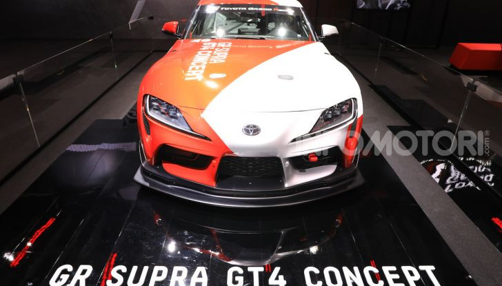 Toyota GR Supra GT4 Concept - Foto 4 di 22