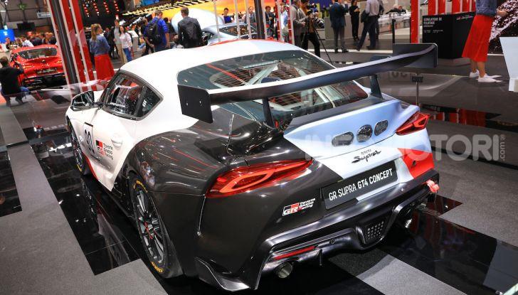 Toyota GR Supra GT4 Concept - Foto 19 di 22