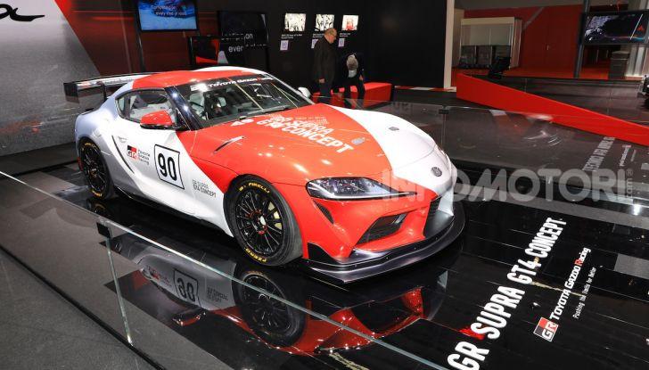 Toyota GR Supra GT4 Concept - Foto 20 di 22