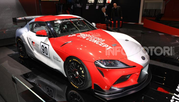 Toyota GR Supra GT4 Concept - Foto 21 di 22