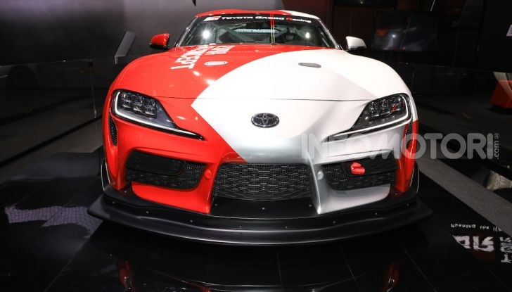 Toyota GR Supra GT4 Concept - Foto 2 di 22