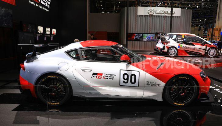 Toyota GR Supra GT4 Concept - Foto 8 di 22