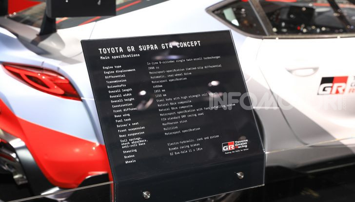 Toyota GR Supra GT4 Concept - Foto 9 di 22