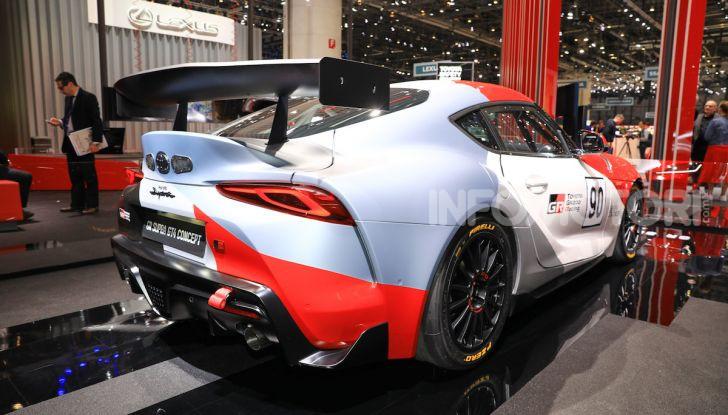 Toyota GR Supra GT4 Concept - Foto 3 di 22