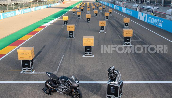 Triumph: esordio record nel mondiale Moto2 - Foto 4 di 5