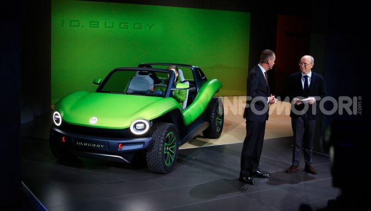 Volkswagen ID Buggy, ritorno elettrico al Salone di New York - Foto 7 di 15