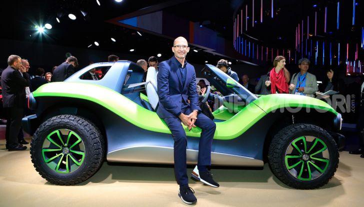Volkswagen ID Buggy, ritorno elettrico al Salone di New York - Foto 6 di 15