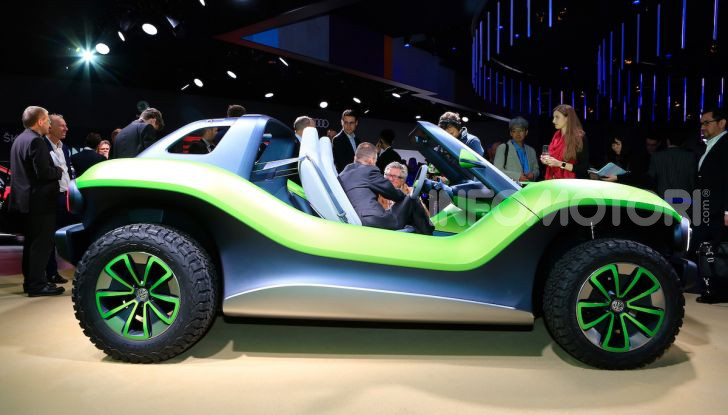 Volkswagen ID Buggy, ritorno elettrico al Salone di New York - Foto 14 di 15