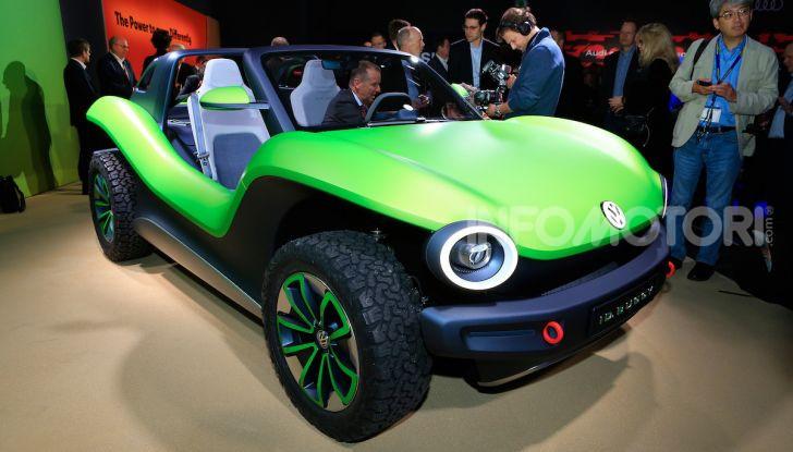 Volkswagen ID Buggy, ritorno elettrico al Salone di New York - Foto 2 di 15