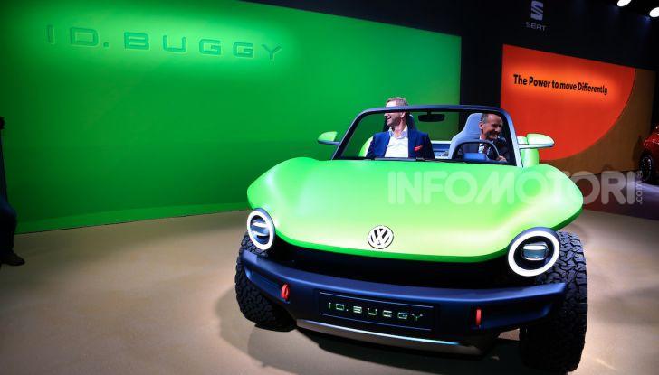 Volkswagen ID Buggy, ritorno elettrico al Salone di New York - Foto 4 di 15