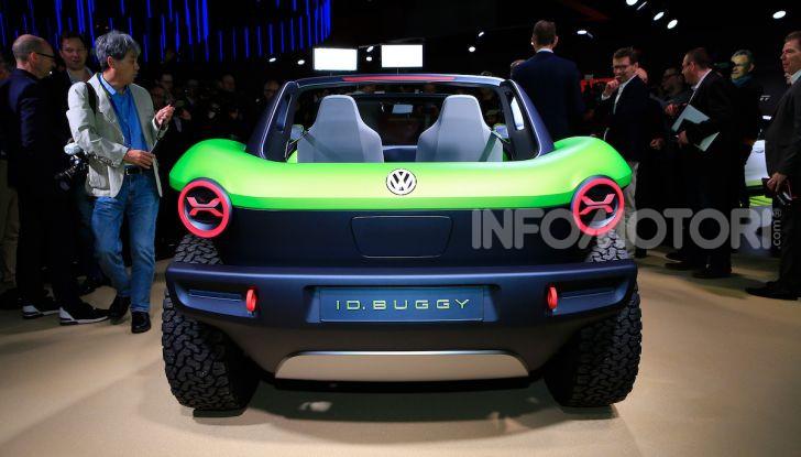 Volkswagen ID Buggy, ritorno elettrico al Salone di New York - Foto 10 di 15