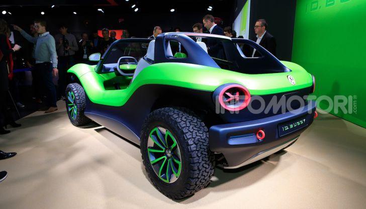 Volkswagen ID Buggy, ritorno elettrico al Salone di New York - Foto 11 di 15