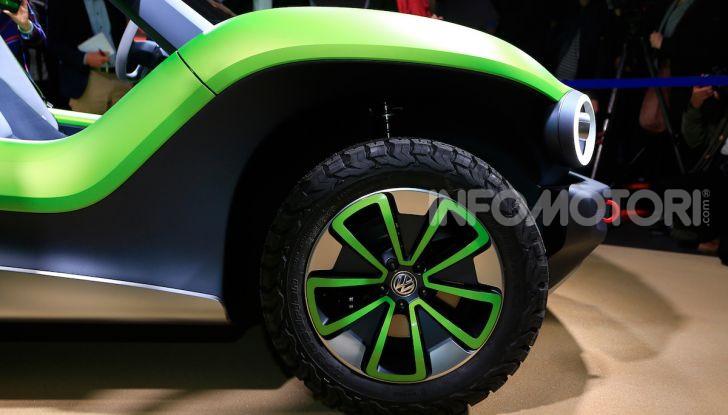 Volkswagen ID Buggy, ritorno elettrico al Salone di New York - Foto 5 di 15