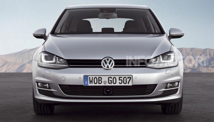 Volkswagen Golf: 45 anni di storia in continua evoluzione - Foto 10 di 12
