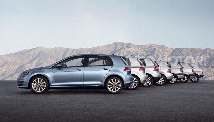 Volkswagen Golf: 45 anni di storia in continua evoluzione - Foto 3 di 12