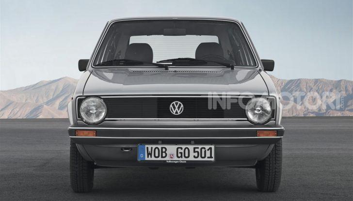 Volkswagen Golf: 45 anni di storia in continua evoluzione - Foto 4 di 12