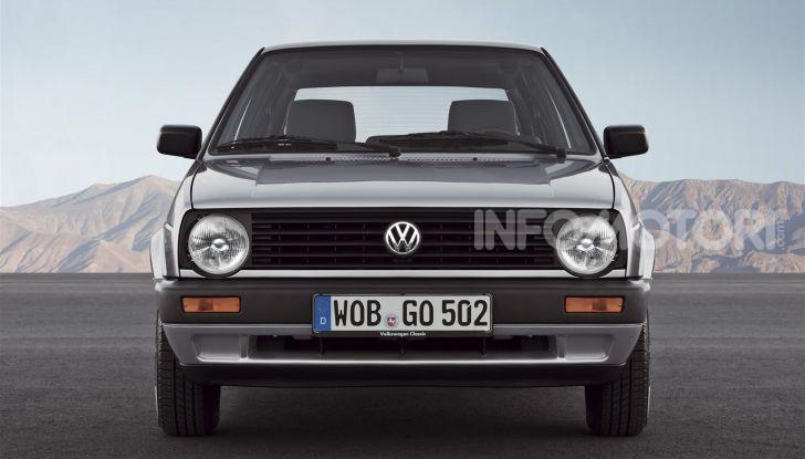 Volkswagen Golf: 45 anni di storia in continua evoluzione - Foto 5 di 12