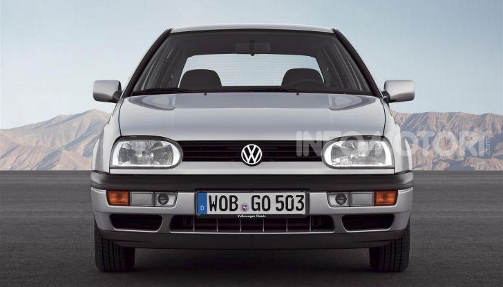 Volkswagen Golf: 45 anni di storia in continua evoluzione - Foto 6 di 12