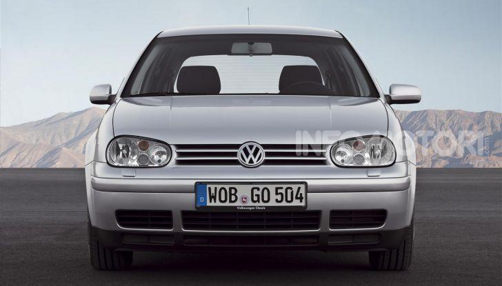 Volkswagen Golf: 45 anni di storia in continua evoluzione - Foto 7 di 12