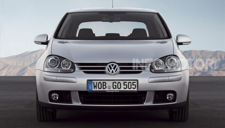Volkswagen Golf: 45 anni di storia in continua evoluzione - Foto 8 di 12