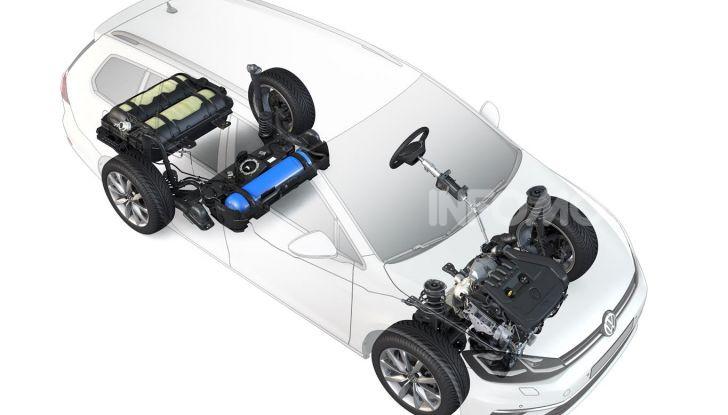 Nuova Volkswagen a metano con motore 1.5 TGI da 130 CV - Foto 7 di 17