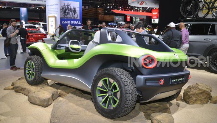 Volkswagen ID Buggy, ritorno elettrico al Salone di New York - Foto 1 di 15