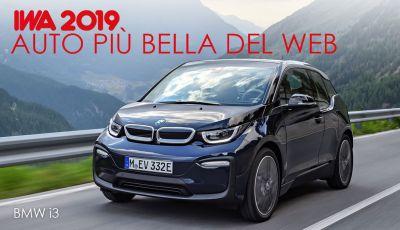 BMW i3 conquista i lettori e diventa l'Auto Più Bella del web 2019