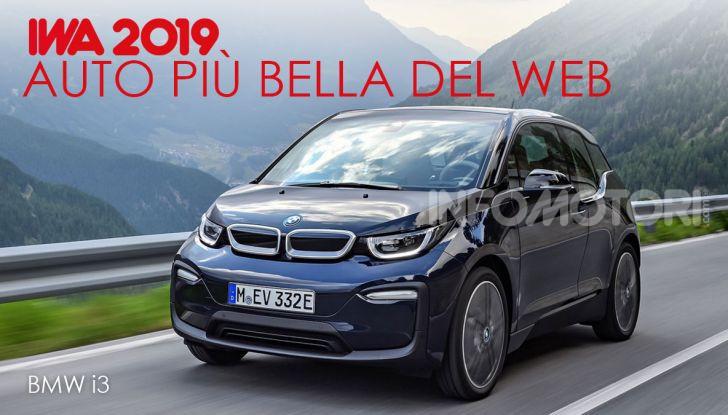BMW i3 conquista i lettori e diventa l'Auto Più Bella del web 2019 - Foto 1 di 23