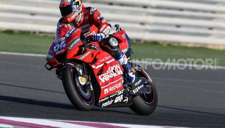 In Qatar si parla italiano: Dovizioso su Ducati conquista il primo GP dell'anno - Foto 2 di 10