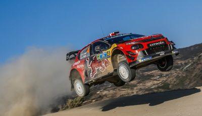 WRC Messico 2019- Day 1: al comando la Citroën C3 WRC di Ogier-Ingrassia
