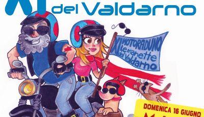 XI MOTORADUNO de Le Manette del Valdarno