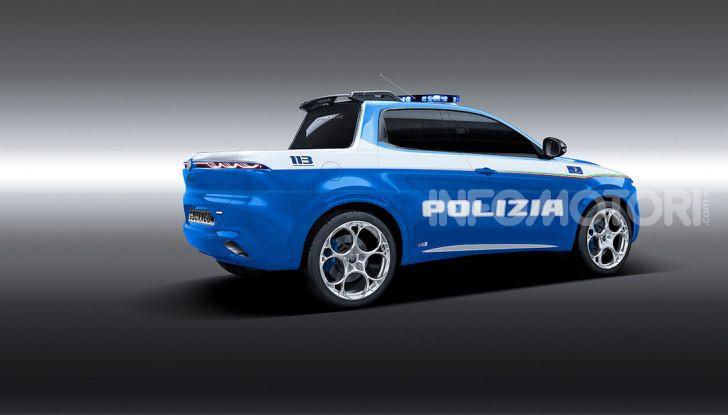 Alfa Romeo Tonale, ecco il Pick-Up della Polizia di Nikita - Foto 2 di 4