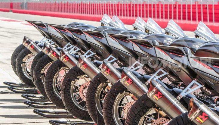 Test in pista Aprilia RSV4 Factory 1100, invecchiando migliora più di un buon vino! - Foto 55 di 65