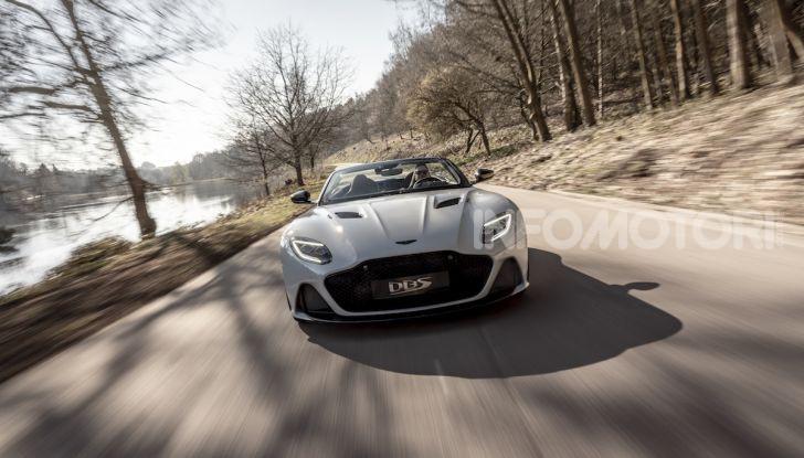 Aston Martin DBS Superleggera: arriva la versione Volante - Foto 9 di 12