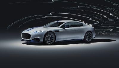 Nuova Aston Martin Rapide E presentata a Shanghai
