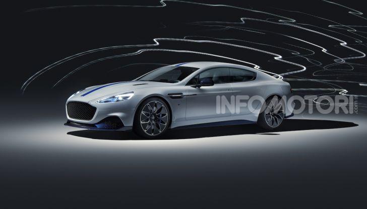 Nuova Aston Martin Rapide E presentata a Shanghai - Foto 1 di 11